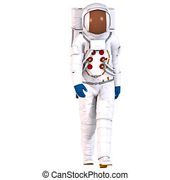 3D Astronaut - Man in an Astronautsuite Image contains a...