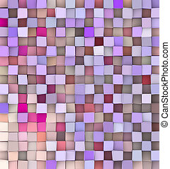 3d backdrop in different shades pink purple