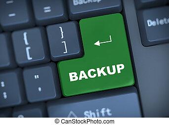 3d backup keyboard concept