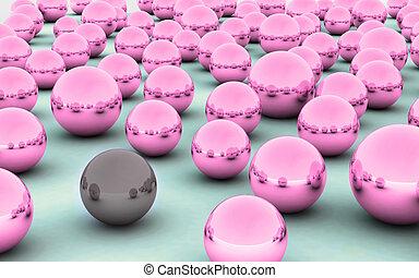 3D ball dark skin care