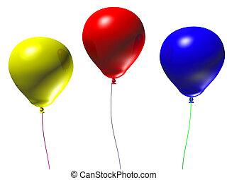 3d Balloons