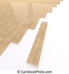 3d Bamboo floor tiles