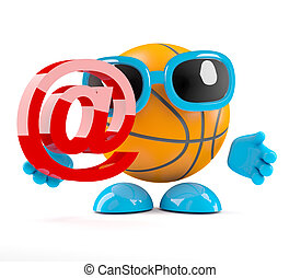 3d Basketball email