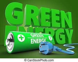 3d battery with energy