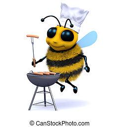 3d BBQ Bee