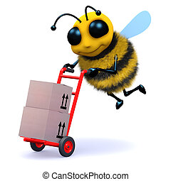 3d Bee delivers