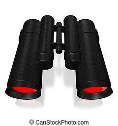 3D binoculars concept