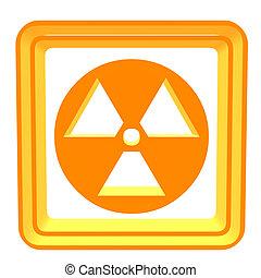 3D Bio Hazzard Symbol
