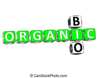 Bio Organic Crossword