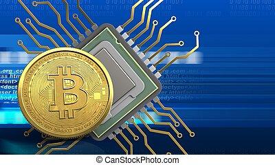 3d , bitcoin