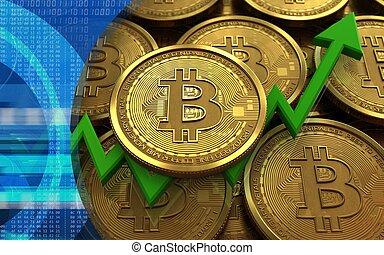 3d bitcoin