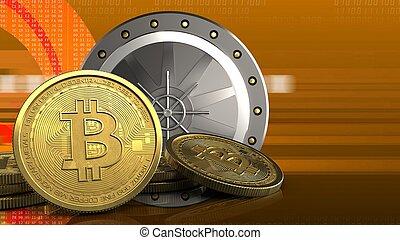 3d bitcoins