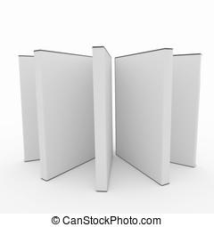 3d blank dvd box