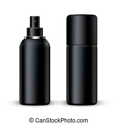 3D Blank Metal Spray Deodorant Bottle With Cap