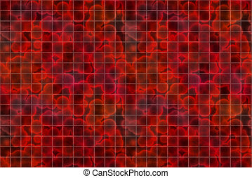 3D Blood Cells Texture