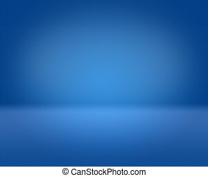 3D Blue Background Stage