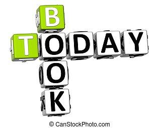3D Book Today Crossword