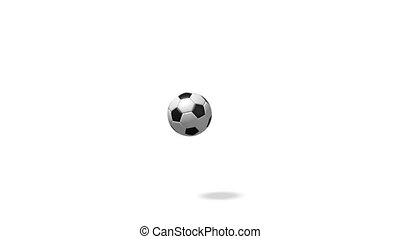 3D bouncing soccer/ football - animation - 3D bouncing...