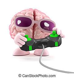 3d Brain games