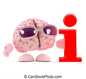 3d Brain info