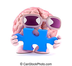 3d Brain puzzles
