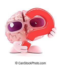 3d Brain question
