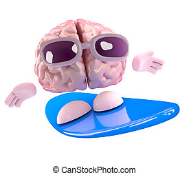 3d Brain surfing