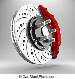 3d brake.
