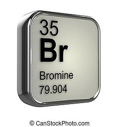 3d, bromine, element