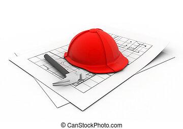 3d building concept