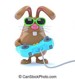 3d Bunny gamer