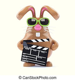 3d Bunny works in the movies