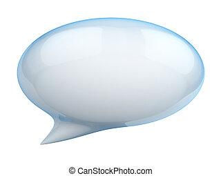 3d, burbuja del discurso