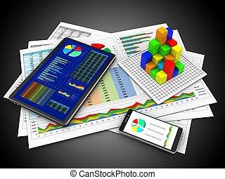 3d business documents