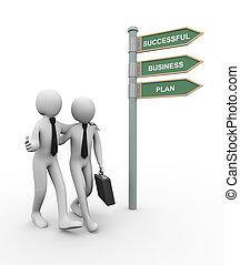 3d business partner successful plan