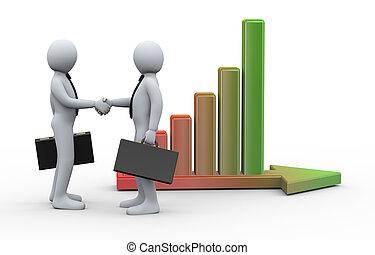 3d business partnership growth