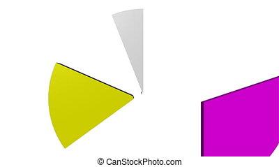 PIE CHART - 3D Business PIE CHART