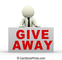 3d businessman giveaway offer