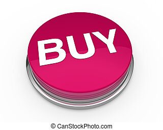 3d button buy pink press push click
