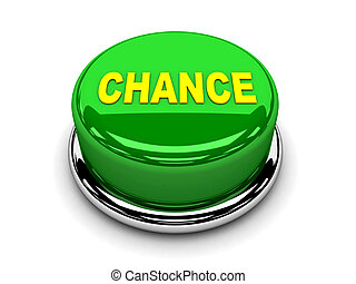 3d button green chance start push