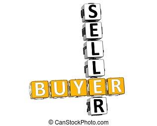 3D Buyer Seller Crossword