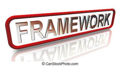 3d buzzword text framework