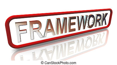 3d buzzword text framework