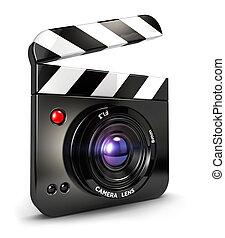 3d camera clapper