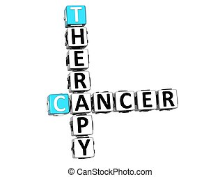 3D Cancer Therapy Crossword