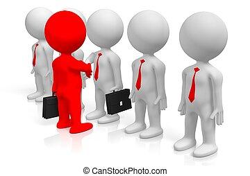 Capo Ufficio Disegno : Impiegato uomo affari sparo 3d capo. affari ufficio. persone