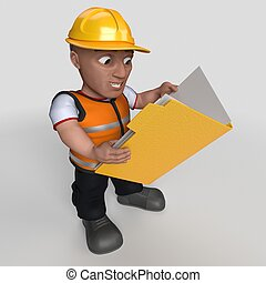 3D Cartoon Builder Character