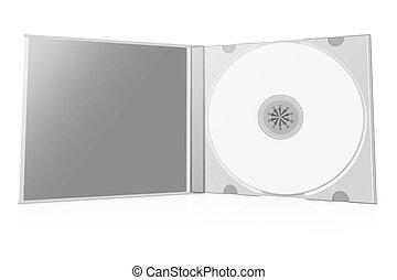 3d cd case