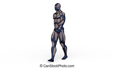 3D CG rendering of hero