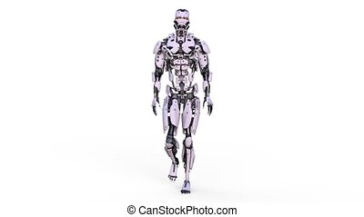 3D CG rendering of robot